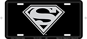 Chroma 001949 'Superman Logo' Metal Tag License Plate
