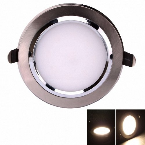 2 pcs 3W  Round COB LED SMD 3000-3200K  Warm White  280 LM  Wholesale Pricing