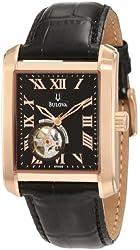 Bulova Men's 97A105 BVA-Series 160 Mechanical Watch