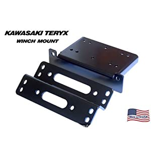 KFI Products 100700 Winch Mount for Kawasaki Teryx 750 by KFI Products