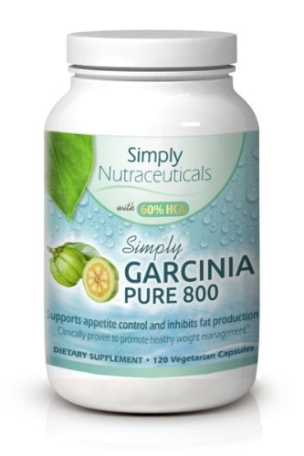 Garcinia Cambogia Extract Pure - Clinically Proven Formula With 1,600 Mg Per Serving And 60% Hca - Highest Potency Available - Absolutely No Fillers - Sixty (60) Day Supply