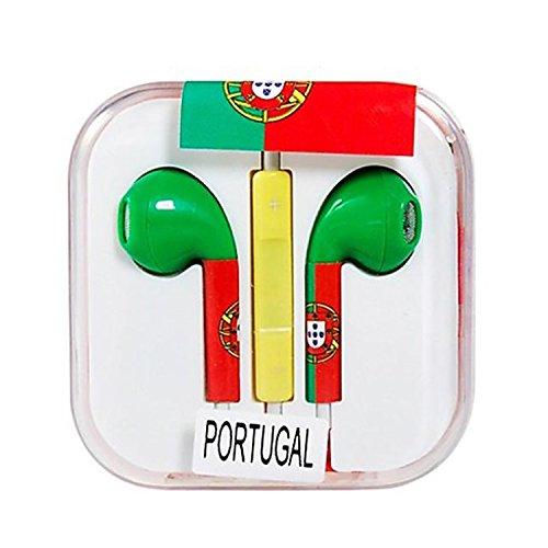 Vamvaz Fashion World Italia Flag Design 3.5Mm Volume Controllable In-Ear Earphone With Microphone For Iphone 4 4G 4S 5 5S 5C Ipad 2 Mini 5 Air Ipod