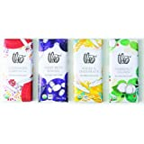 Theo Chocolate Organic NEW Fantasy Flavors 4-Bar Collection, 7.6-ounces