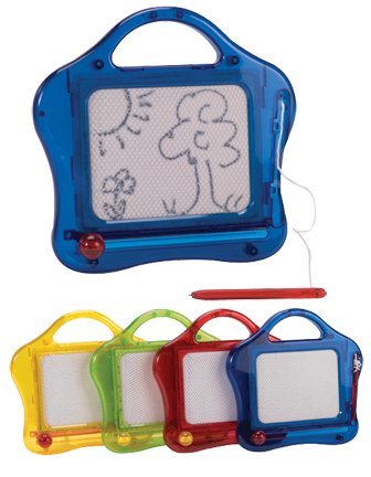 Schylling Mini Magnetic Sketch and Erase - Colors May Vary Novelty