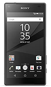 Sony Xperia Z5 Compact Smartphone (4,6 Zoll (11,7 cm) Touch-Display, 32 GB interner Speicher, Android 5.1) schwarz