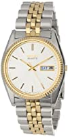 Seiko Men's SGF204 Two-Tone Watch by Seiko