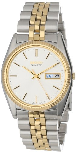 Seiko Mens SGF204 Two-Tone Watch