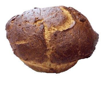 Katz Gluten Free Round Oat Challah, 7.5 Ounce