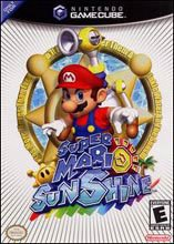 Super Mario Sunshine on Gamecube