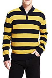 Blue Harbour Extrafine Pure Lambswool Wide Striped Jumper [T30-2443B-S]