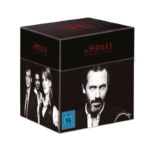 Dr. House - Die komplette Serie, Season 1-8 (Limited Edition, 46 Discs)