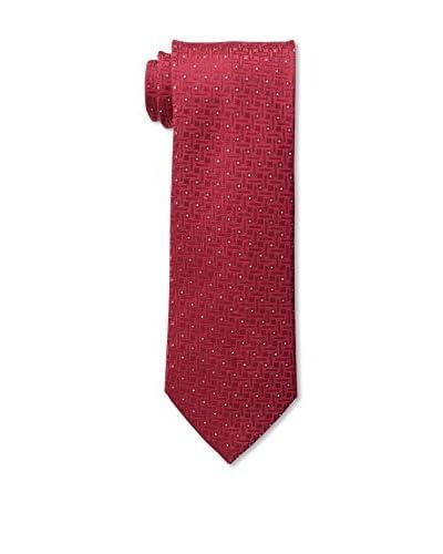 Geoffrey Beene Men's Lurex Basketweave Tie