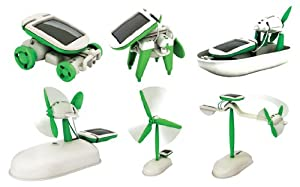 No1GS - 6 in 1 Solar Educational Kit - Eco Friendly Toy.