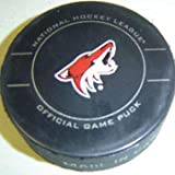 Phoenix Coyotes NHL Hockey Official Game Puck