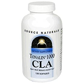 Source Naturals Tonalin 1000 CLA, Softgels, 120 softgels