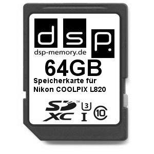 dsp-memory-z-de-4051557427617-64-gb-ultra-tarjeta-de-memoria-de-alta-velocidad-para-nikon-coolpix-l8