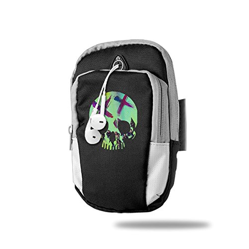 Creamfly Kicked In The Teeth Armband Arm Bag Package For Sports Running For Iphone Samsung Galaxy Key Money