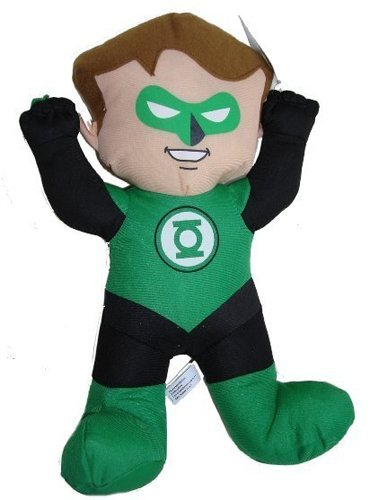 Green Lantern Plush Toy - DC Super Friends Doll (13 Inch) - 1
