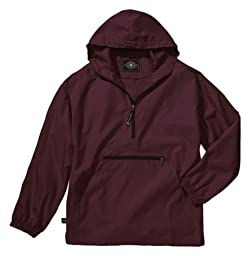 Charles River Apparel 8904 Youth Pack-N-Go Pullover,Maroon,S