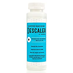 Descaler / Descaling Solution for Keurig, Nespresso, and Other Coffee/Espresso Machines - Made in USA