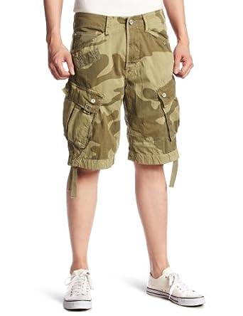 star Bermuda Homme Beige (Grege) 30: Vêtements