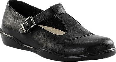 Footprints by Birkenstock Casablanca Womens Leather Shoe (36 EU/US Women 5, Black)