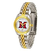 "Miami Ohio Redhawks NCAA ""Executive"" Ladies Watch"