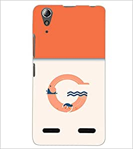 PrintDhaba GRANDbet G D-3204 Back Case Cover for LENOVO A6000 (Multi-Coloured)