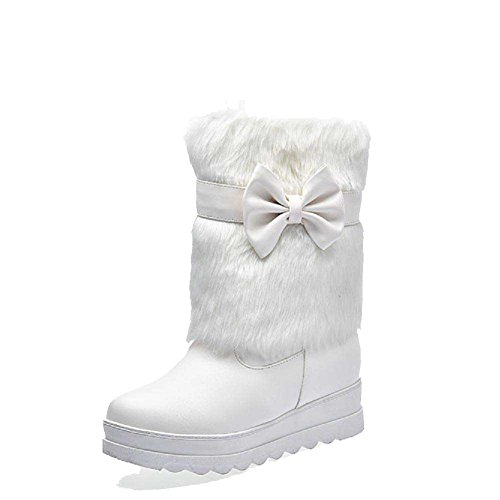 amoonyfashion-womens-pu-low-top-solid-pull-on-kitten-heels-boots-white-37