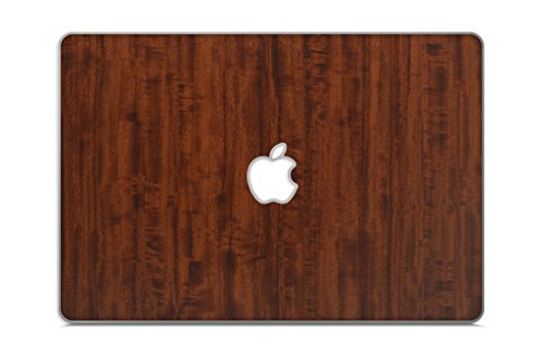 "iCarbons Dark Wood Grain Vinyl Skin for MacBook Pro 15"" 2nd Gen. Top Only"