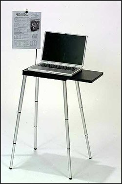 Tabletote - Portable Compact Lightweight Laptop Notebook Stand