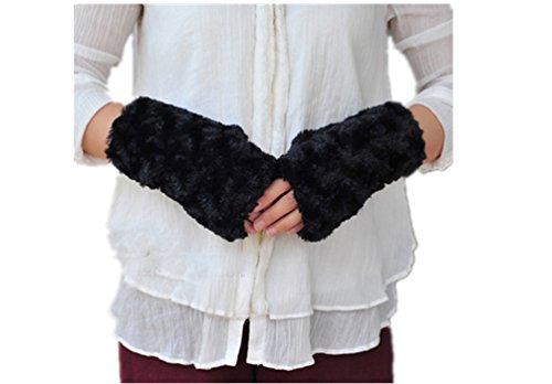Withered-Arm Warmer Damen Armwärmer Gr. One size, schwarz