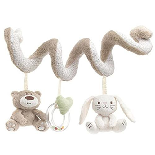 UNKE Baby Kids Cot Spiral Activity Room Hanging Decoration Animal Stroller Toys