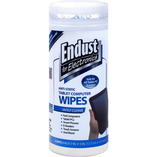 Brand New Endust Anti-Static Tablet Computer Wipes front-905543