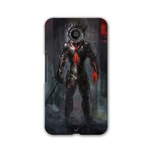 ArtzFolio Fire Reverent : Google Nexus 6 Matte Polycarbonate Original Branded Mobile Cell Phone Designer Hard Shockproof Protective Back Case Cover Protector