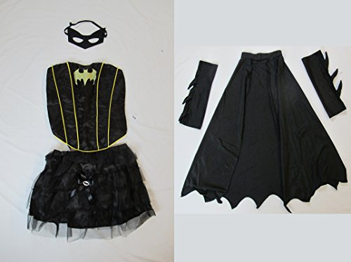 [Sexy Batwoman Batgirl Halloween Costume (Large)] (Batwoman Costume Cape)