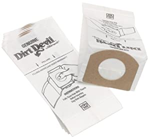 Low Price Dirt Devil Type G Vacuum Cleaner Bags (10-Pack)