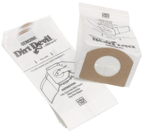 Dirt Devil Type G Vacuum Bags (10-Pack), 3010348001