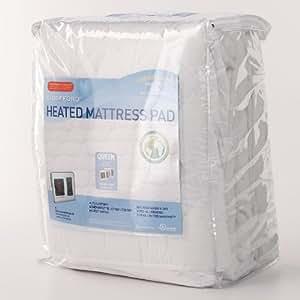 amazon queen heated mattress pad