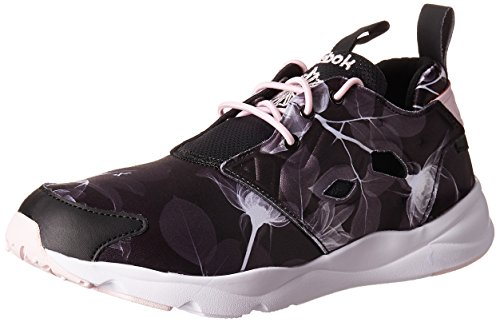 Reebok Damen Schuhe Furylite Graphic, Farbe:black/white;Größe:39