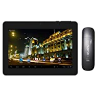 Adcom 3D Tablet 707D /Jelly Bean/Dual Camera/3G-Black with 3G Dongle