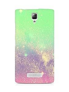 Amez designer printed 3d premium high quality back case cover for Lenovo A2010 (sparkle )