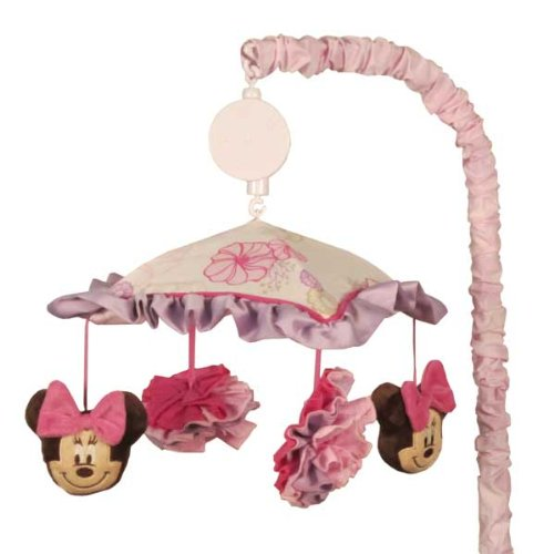 Minnie Mouse Butterfly Dreams Musical Mobile front-86979