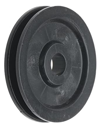 "Acetal Idler Pulley, 1.25"" OD, 0.190"" Bore Diameter, Cable Size Up To 1/16"""
