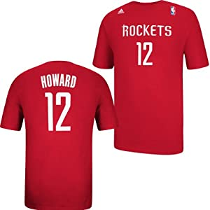 Houston Rockets Adidas NBA Dwight Howard #12 Name & Number T-Shirt L by adidas