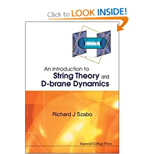 Amazon.com: An Introduction to String Theory and D-Brane Dynamics ...