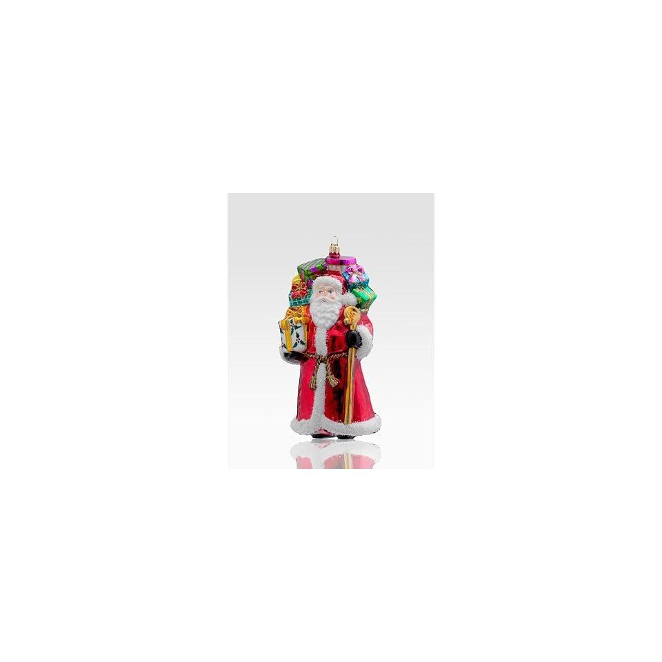 Kurt Adler Polonaise Venerable Santa Glass Ornament