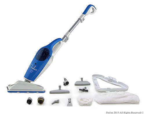 Prolux S7 H2O Sanitizing Stick Handheld Steam Mop Cleaner with Attached Tools (Steam Mop Ladybug compare prices)