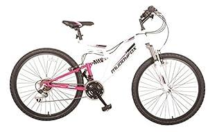Muddyfox Womens Recoil26 Ladies Dual Suspension Mountain Bike Bicycle