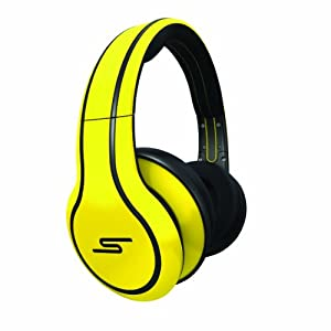 Amazon.com: SMS Audio SMS-WD-YLW Street by 50 Cent Wired Over-Ear